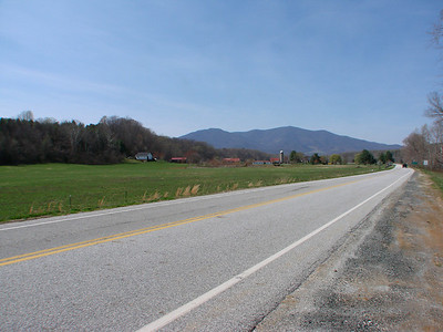 Scenic drive in Nelson County, Rt. 56, on the way to Crabtree Falls