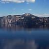 Northern Crater Lake Rim seen from Wizard IslandCrater Lake National Park, OregonPhotographed Sept. 14, 2013