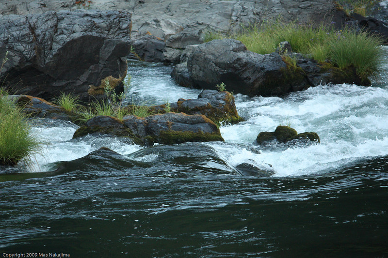early morning on the North Umpqua River, Highway 138 in Umpqua National Forest, Oregon