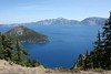 Crater Lake from the Pacific Crest Trail. <br /> <br /> A wonderful view for our picnic lunch