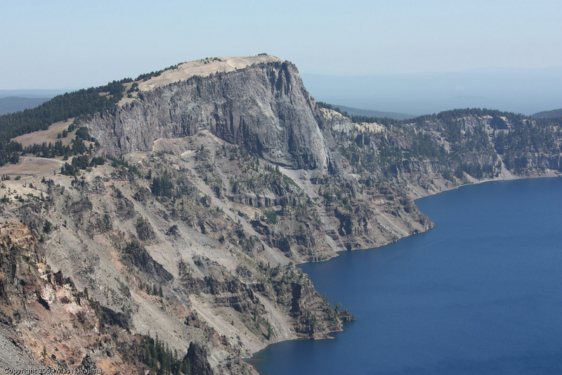 Crater Lake and Lao Rock from The Watchman, Crater Lake National Park, Oregon
