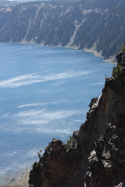 Crater Lake from Watchman Overlook, Crater Lake National Park, Oregon