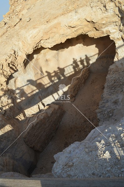 Masada - A cistern for holding water by kdraper