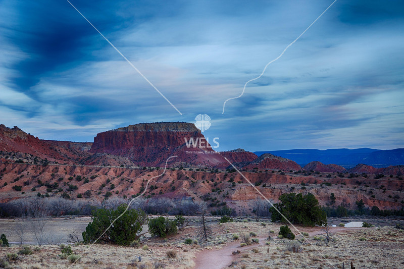 View on way to Ghost Ranch by mspriggs