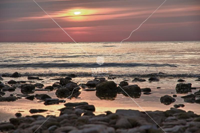 Sunset Beach – Fish Creek 2 by mspriggs
