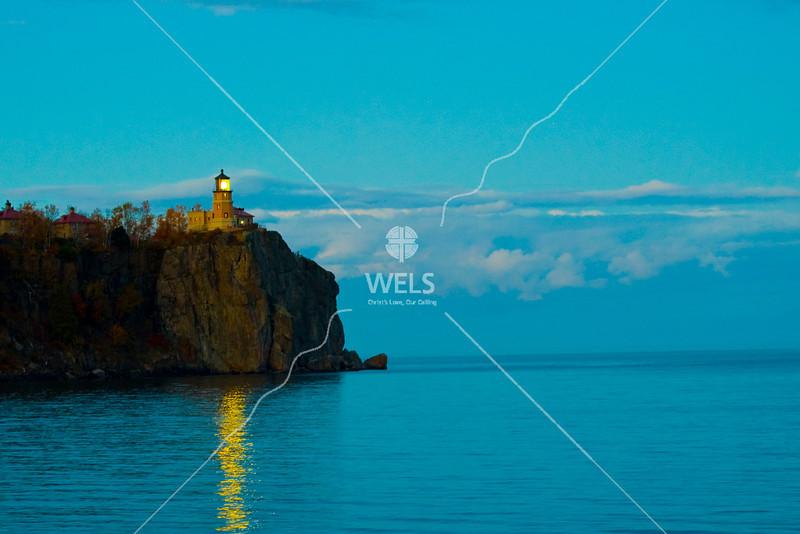 Splitrock Lighthouse Lighting by wpekrul