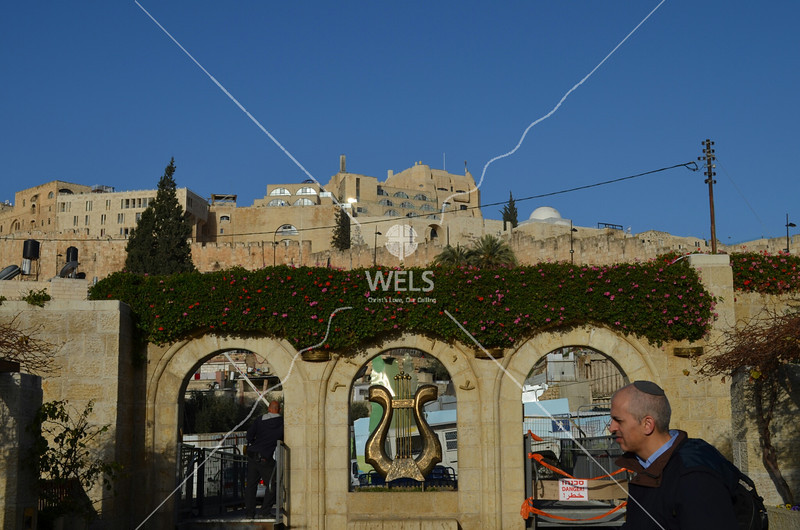 City of David - Entrance to the archaeology site of King David's palace by kdraper