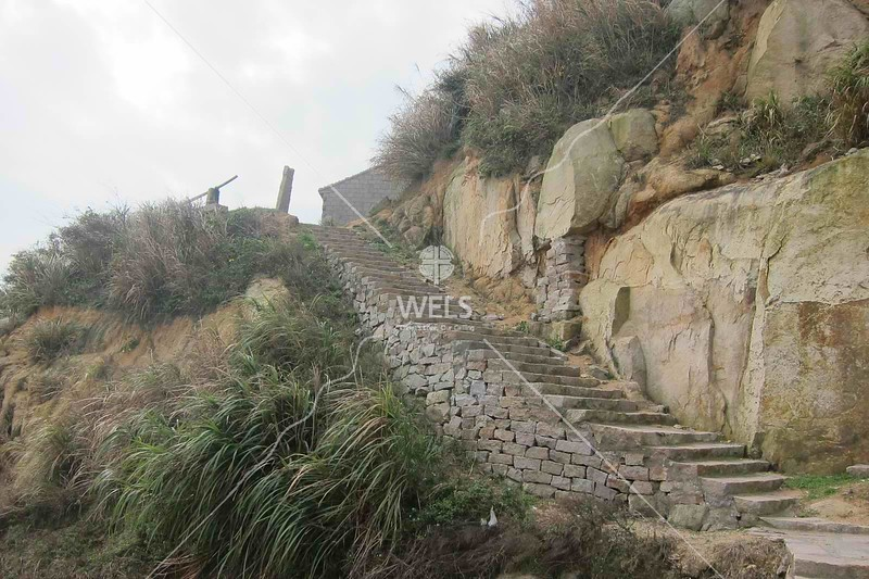 Stone stairwell in coastal village, SE China by kstellick
