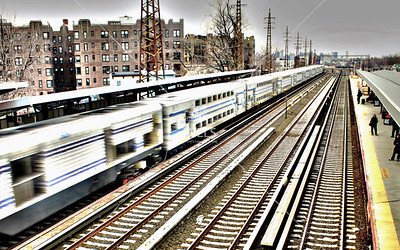 New York City Subway by lhitter