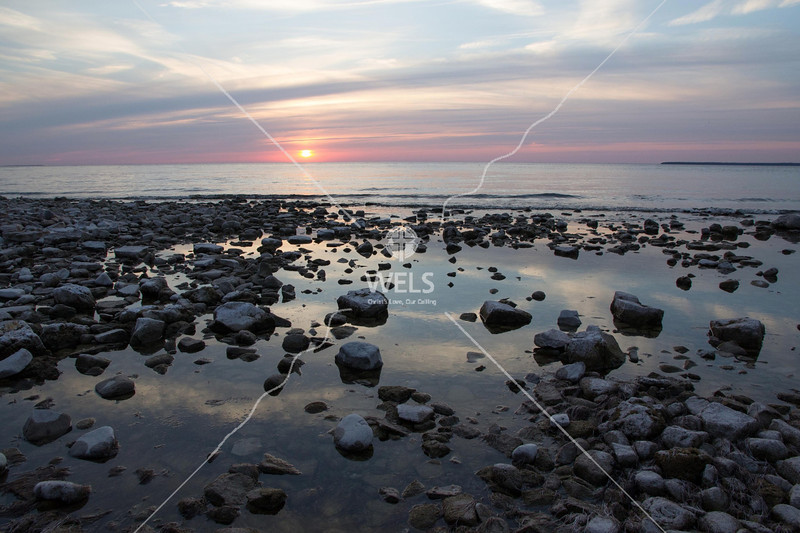 Sunset Beach – Fish Creek 1 by mspriggs