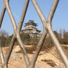DongHueiLo Pavillion through a gate, Wenling, Zhejiang Province, China by kstellick