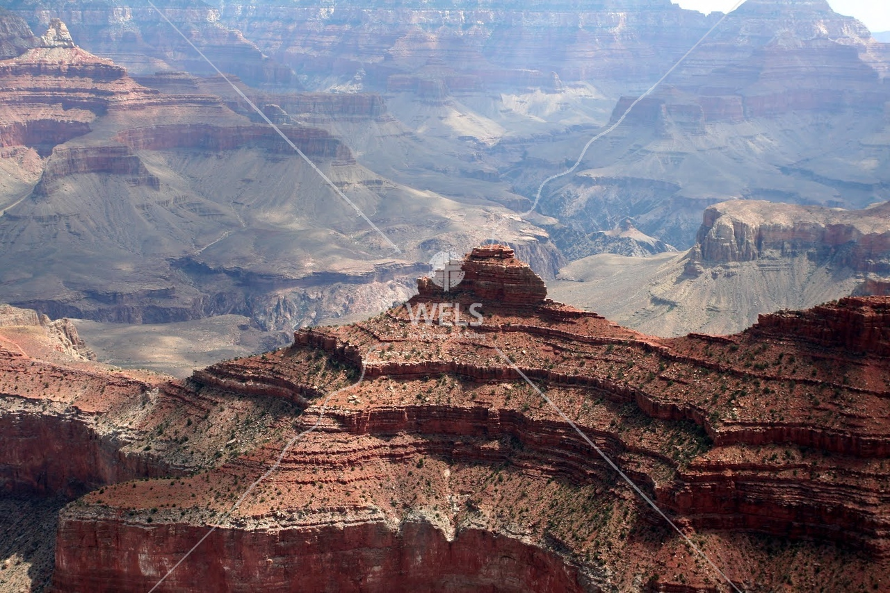 A closer view of the  Grand Canyon by tluecke