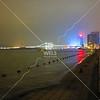 Night view on shoreline,  Xiamen, Fujian Province China  by kstellick