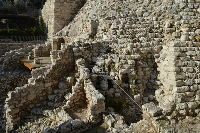 City of David – Ruins at the archaeology site of King David's palace by kdraper