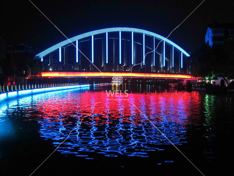 Rainbow bridge in Shaoxing China by kstellick