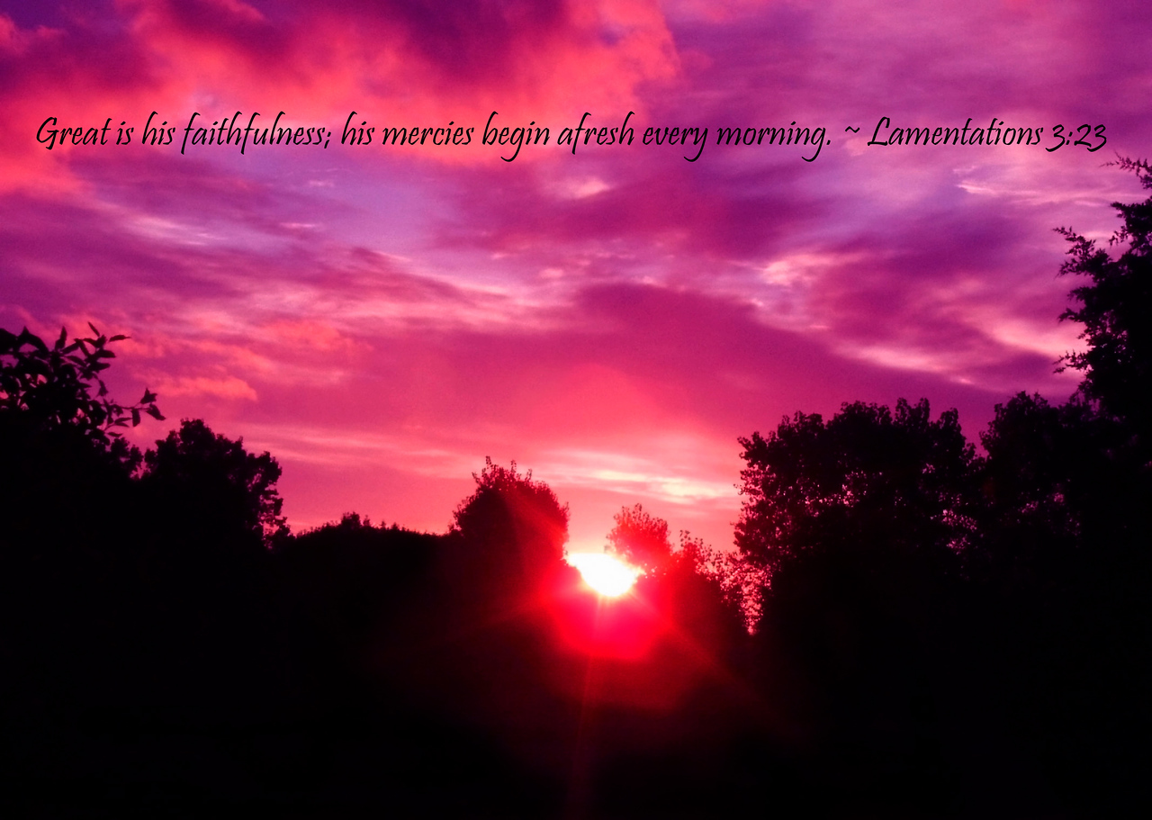 Sunrise_Great Is His Faithfulness copy