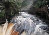 Bushkill Falls. Bushkill, Pennsylvania