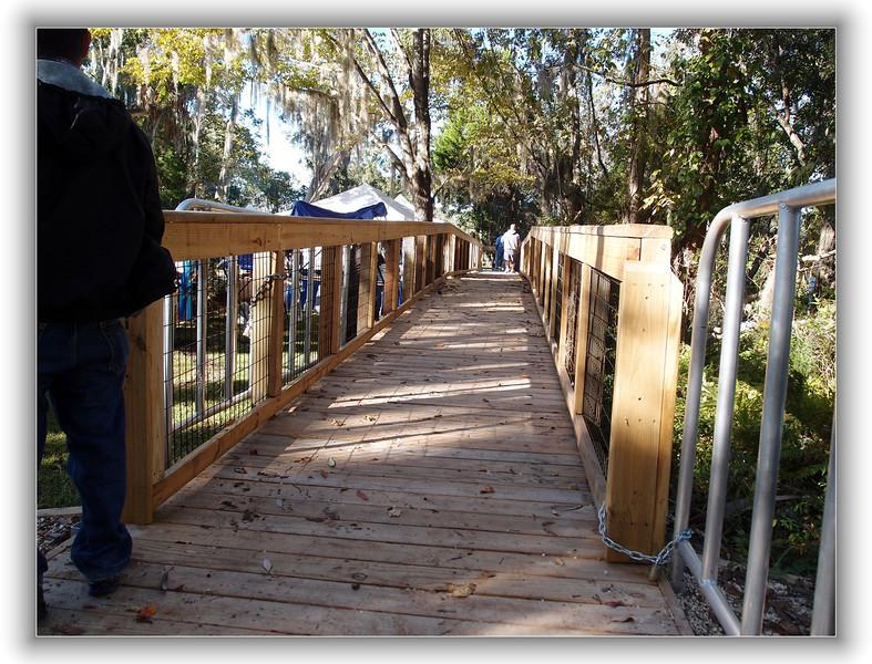 Boardwalk at Three Sisters Spring
