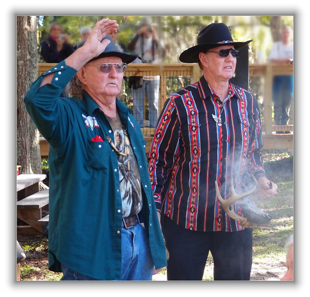 Seminole Indians prepare for blessing of Three Sisters Spring