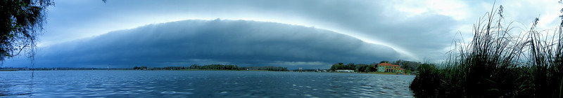 Storm moving toward Kings Bay