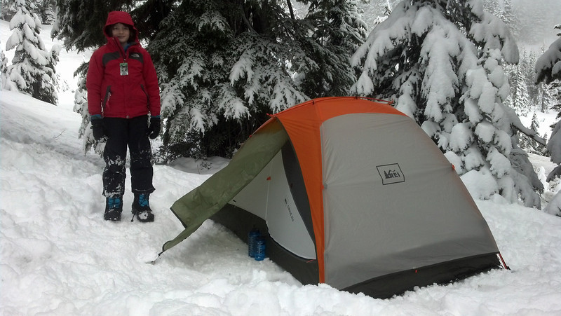 Our tent.