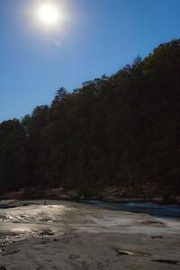 Midnight over Cumberland Falls