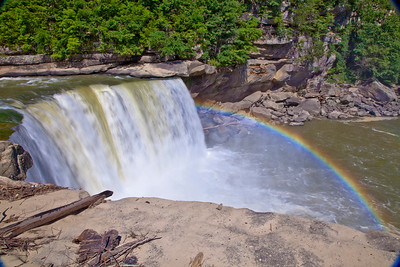 Noon with Fallsbow, not rainbow