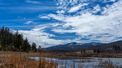 Snow still sits on top of Cuyamaca