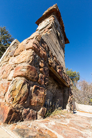 The huge fireplace for the old Boy Scout 'Mess Hall' at Cuyamaca.  I can only imagine what it would be like to be out there hiking around as a kid on a cold winter day then come into the lodge to a roaring fire and a hot meal.