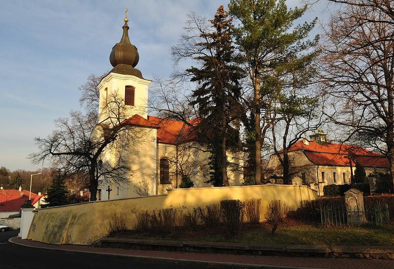 katolický kostel ve Starých Bohnicích