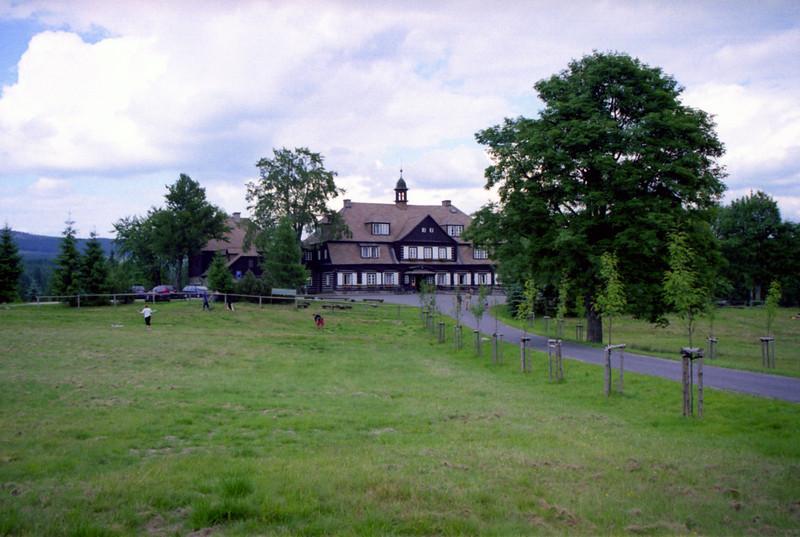 lovecký zámeček na Nové louce (Šámalova chata)