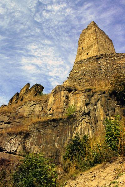 hrad Okoř (srpen 2003) - foceno Canon EOS 300