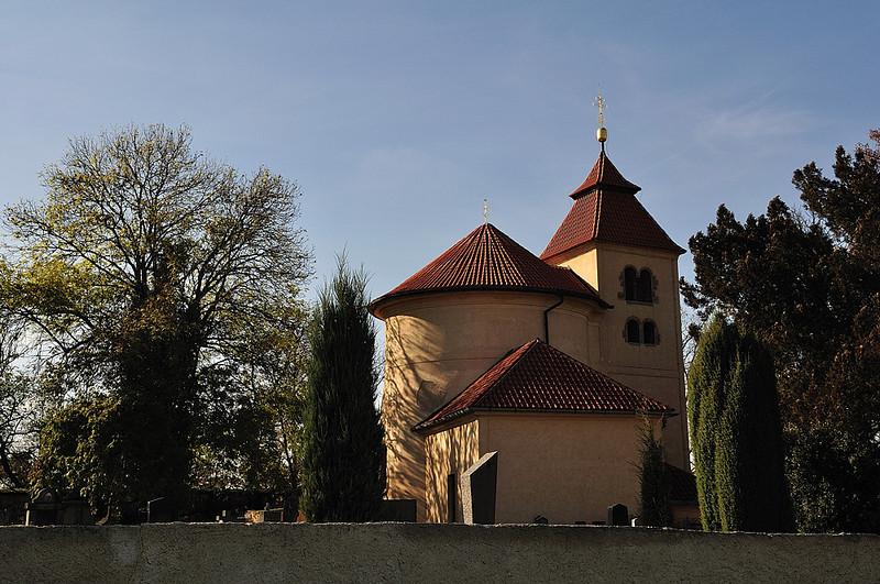 románská rotunda v Černých Budech