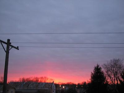 Dayton sunsets-sunrises 2009