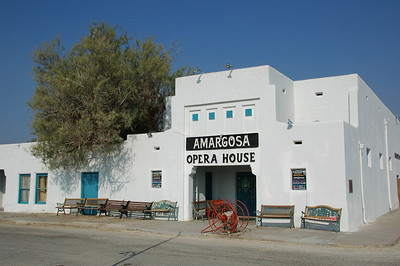 Opera House at Death Valley Junction
