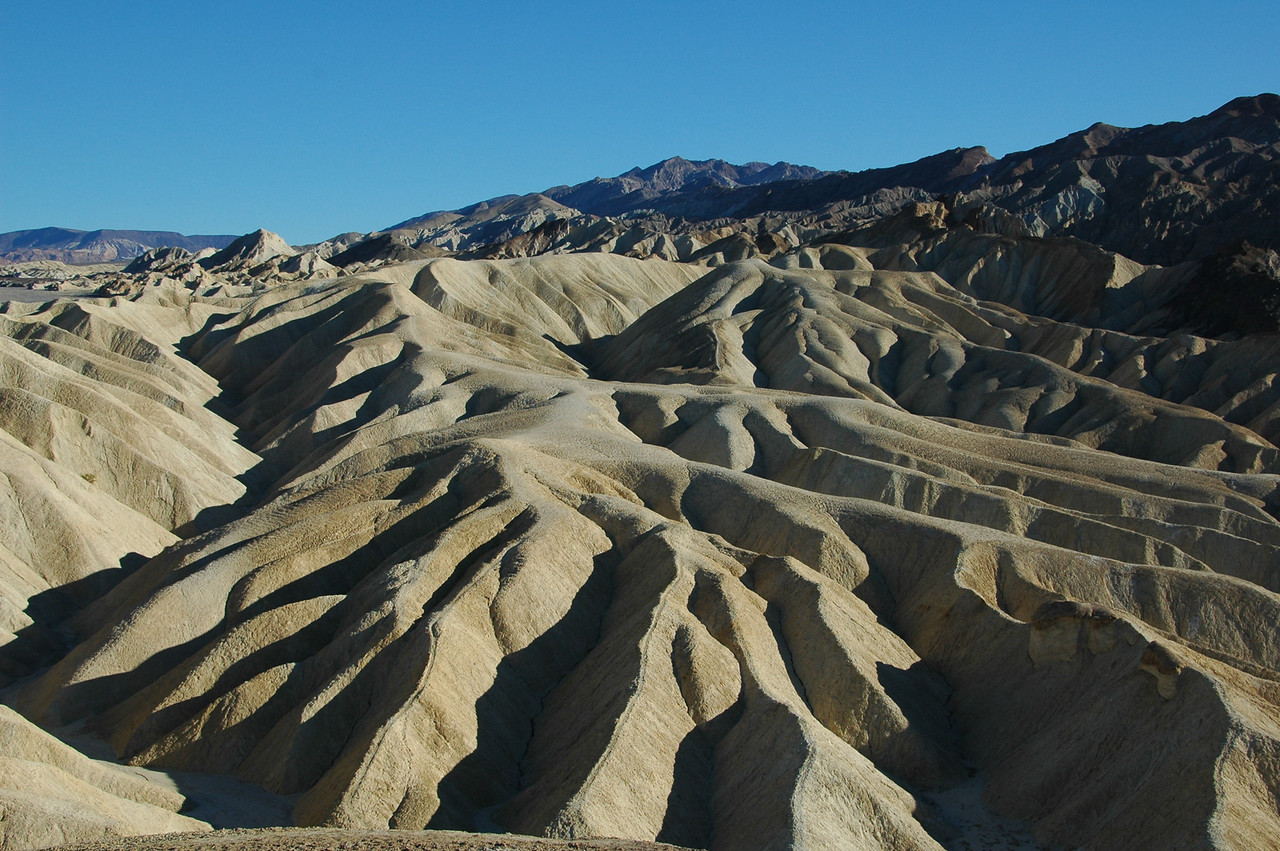 Badlands, Zabriskie Point