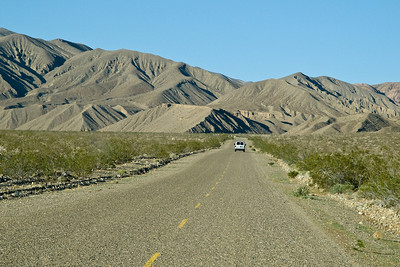 Approaching Panamint