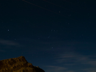 Orion over knoll at Ryan.