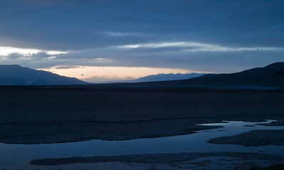 Dusk at Badwater