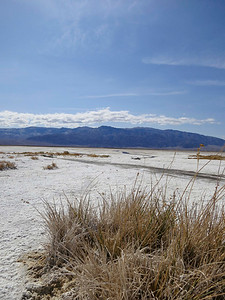 View from the salt flats.