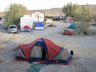 Another view of our camp.