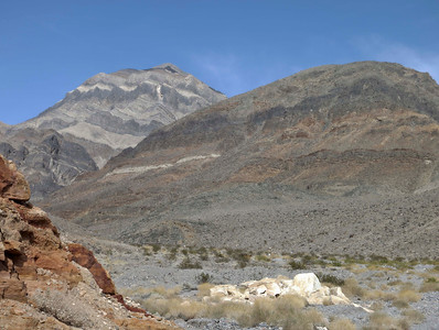 View at Travertine Point.  Just one of many stunning vistas in Death Valley.