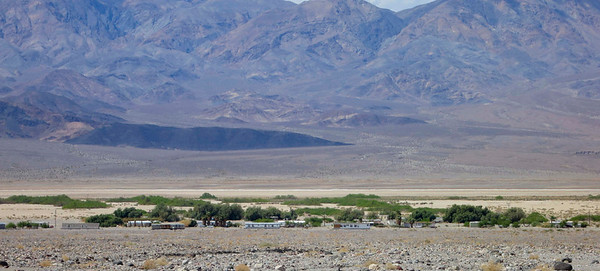 Timbisha Shoshone reservation near Furnace Creek.  Most years (but not this one) we visit with them.