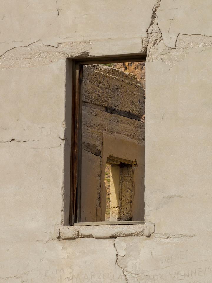 Window Frame at Rhyolite