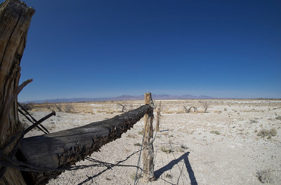 Fence and Landscape, Jackrabbit Spring