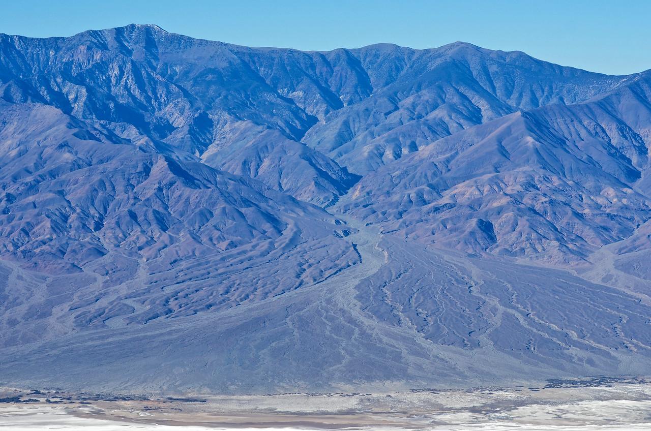 Telescope Peak and Hanaupah Canyon