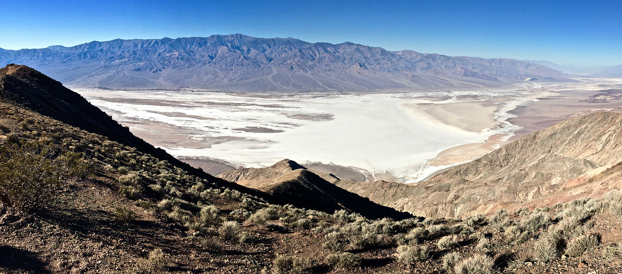 Looking at Death Valley from Dante's View