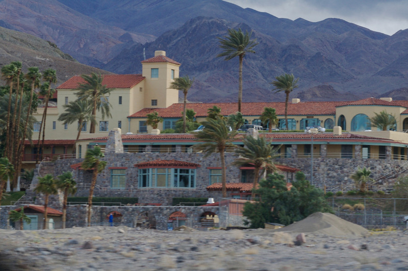 We did not stay at the fancy Furnace Creek Inn
