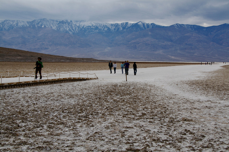 BadWater, lowest point in U.S.