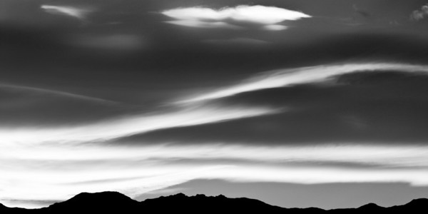 Clouds, Death Valley National Park